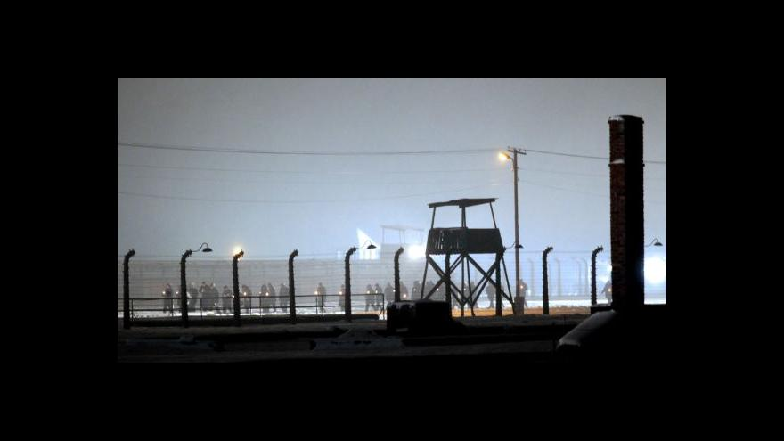 Video Události k pietním akcím v Osvětimi