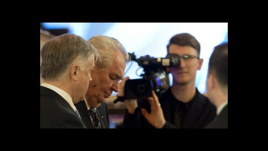 Video Bez komentáře: Miloš Zeman a Vladimir Jakunin