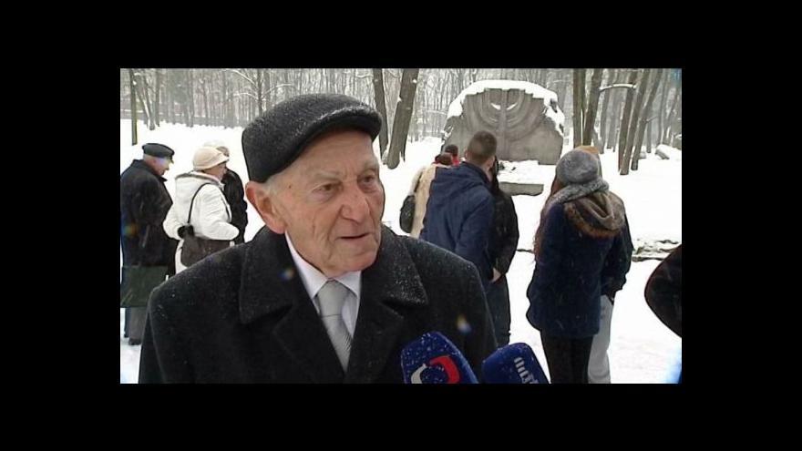Video Výročí osvobození Osvětimi v Ostravě