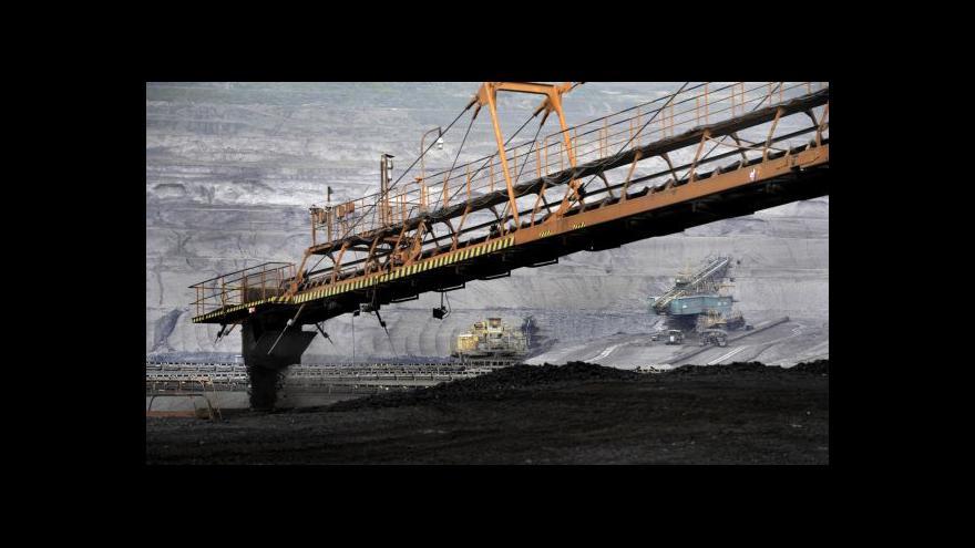 Video Vladimír Buřt: Není  důvod, aby těžaři nabírali pracovníky