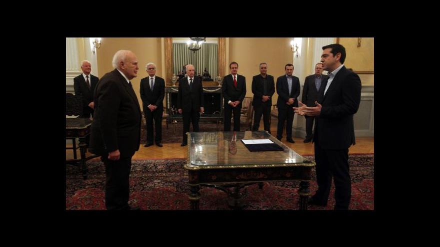 Video Tsiprasova vláda žádá další změny dluhových podmínek