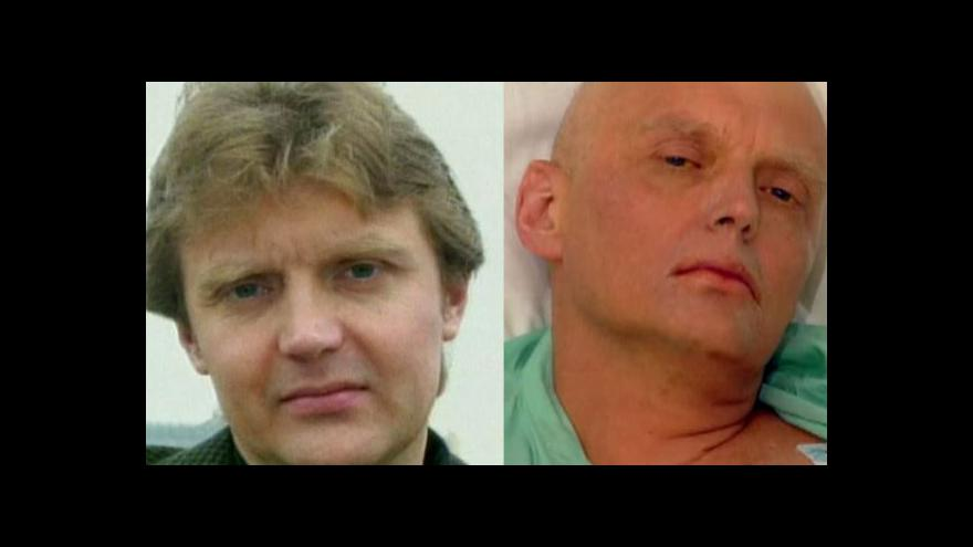 Video Za smrtí Litviněnka stála Moskva, Británie má prý důkaz