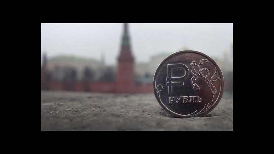 Video Ruská vláda do ekonomiky nalije přes 2 biliony rublů