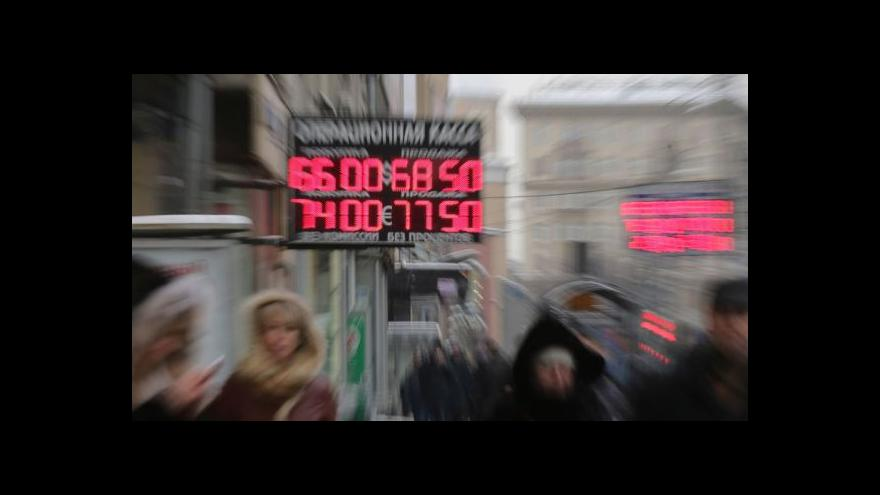 Video Seidler: Finanční injekce problémy Ruska nevyřeší