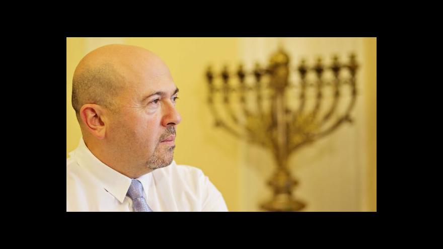 Video Izraelský velvyslanec: Česko může jít Západu příkladem