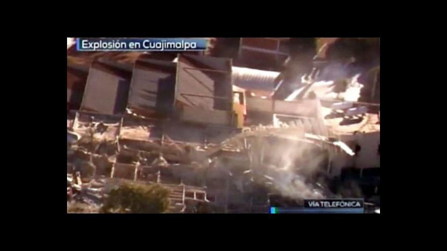 Video Nejméně sedm mrtvých po explozi u mexické porodnice