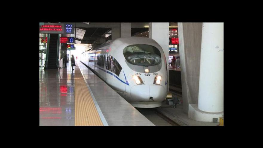 Video Události: Velké čínské plány s rychlovlaky