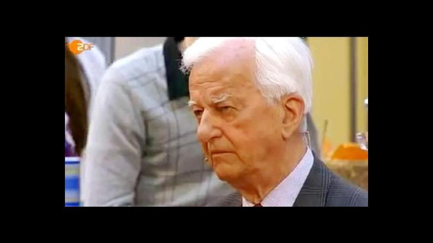 Video Weizsäckera považoval za přítele i Havel