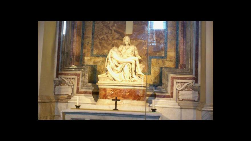 Video Horizont: Jsou nalezené sochy od Michelangela?