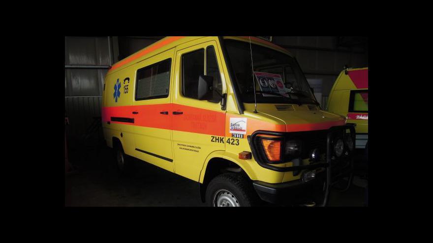 Video Ředitel záchranky dostal vyřazenou sanitku