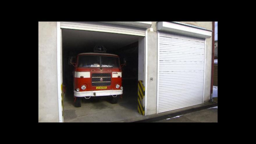 Video O některá auta dobrovolných hasičů mají zájem muzea