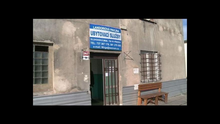Video Majitel ubytovny v Přerově neprodlouží nemocným službu