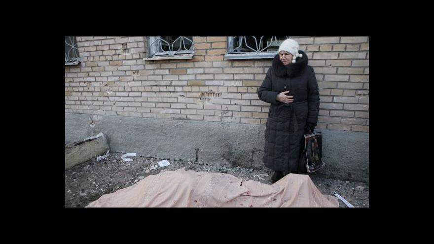 Video Události: Útok na nemocnici v Doněcku