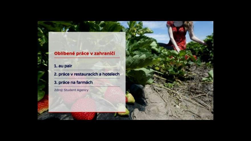 Video Události: Zahraniční brigády pro vysokoškoláky