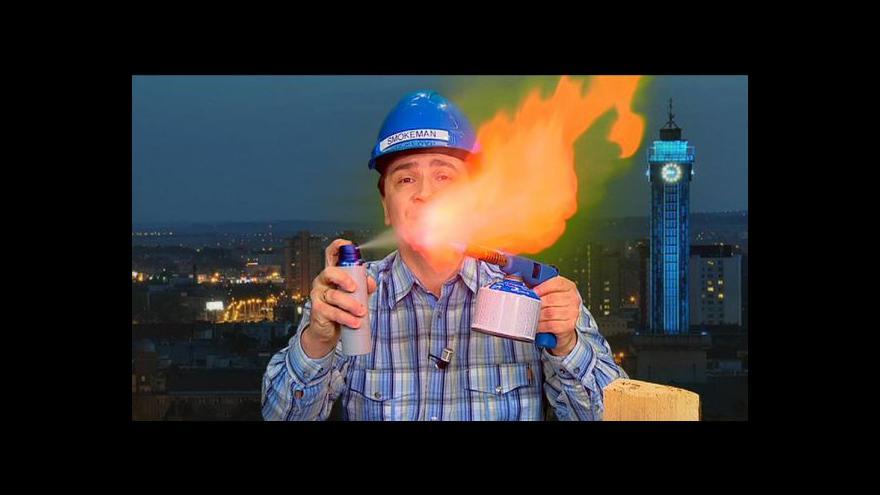 """Video """"Kouři zdar."""" Vzdělávací show vysvětluje, jak funguje topení"""