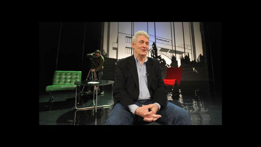 Video Simon Mawer: Brno se objevilo až v překladu