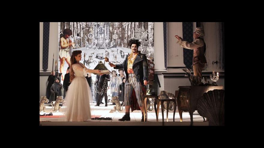 Video Národní divadlo hraje na Kouzelnou flétnu