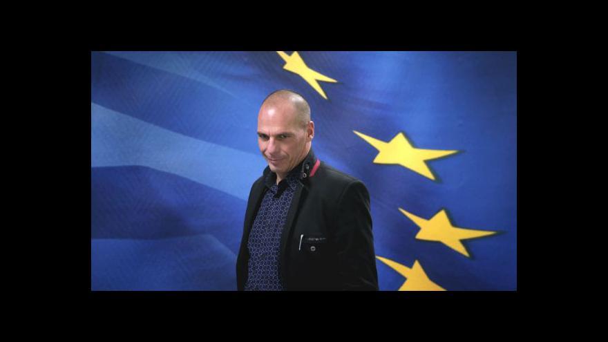 Video Řecko: Banky jsou chráněné z jiných zdrojů