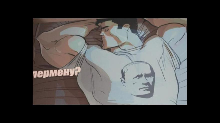 Video Putin má ruskou mládež na své straně
