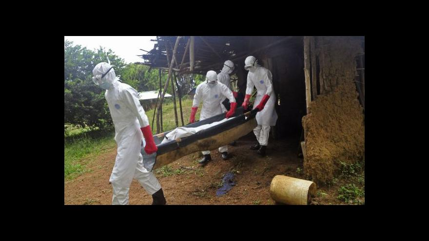 Video Počet nakažených ebolou opět vzrostl