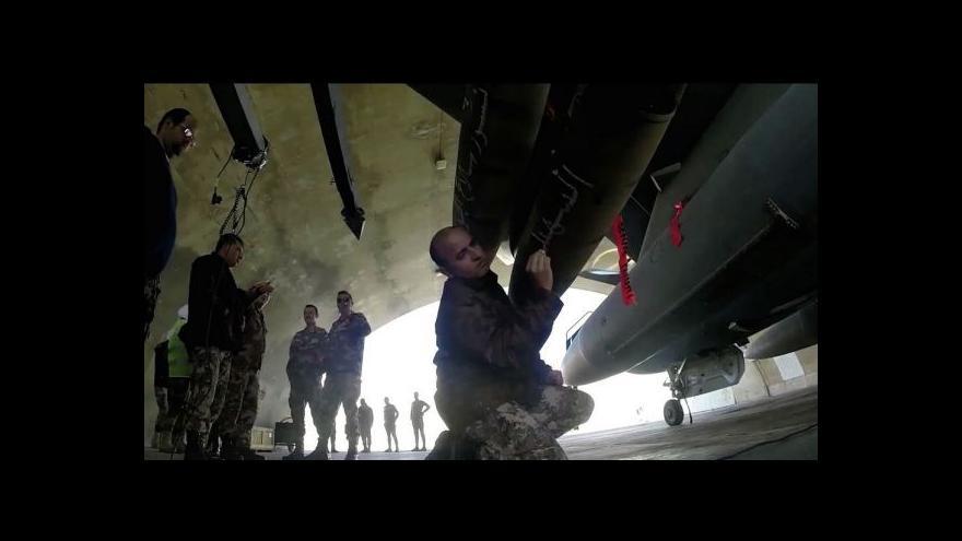 Video Jordánci se mstí za vraždu pilota - udeřili tvrdě na islamisty