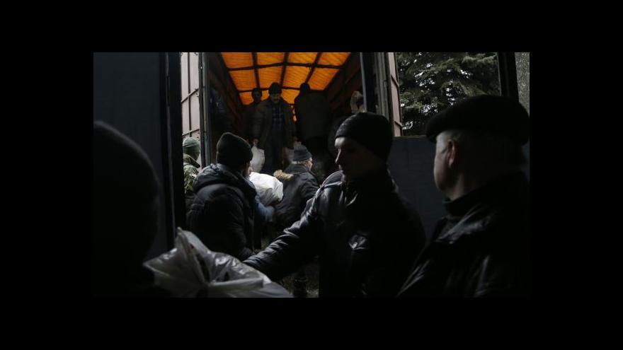 Video Lidé z Debalceve využili krátkodobý humanitární koridor
