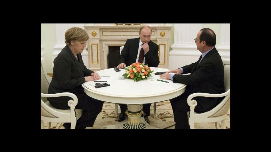 Video Vrcholné jednání v Moskvě živí naději na mír