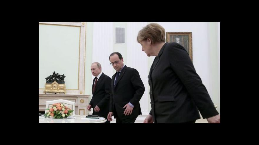 Video Kyjev uvítal návrh mírové dohody