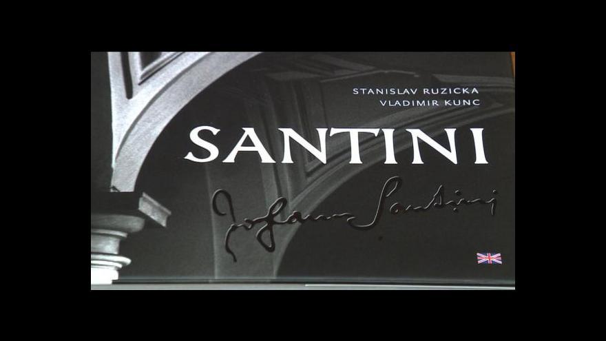 Video Události v kultuře: Santiniho dílo v jedné knize