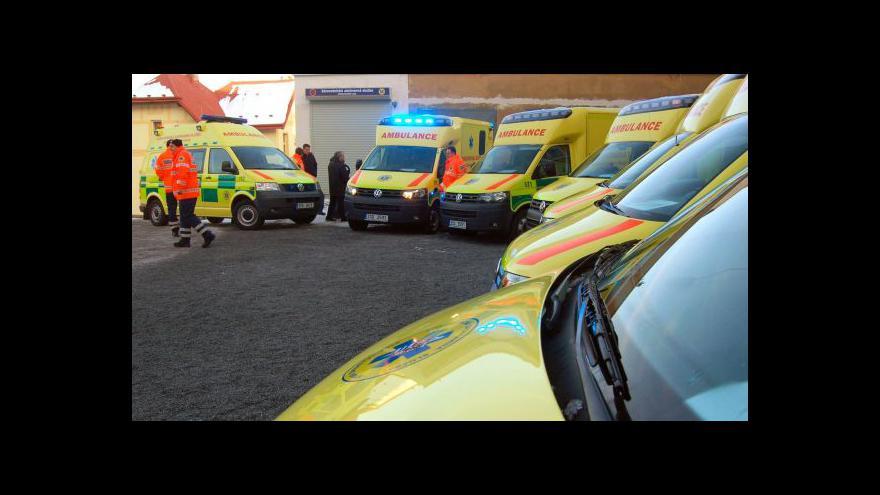 Video Záchrankám chybí lékaři, ministerstvo nabízí rychlejší výuku