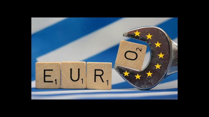 Video Téma Horizontu: Řecko jednalo s Evropou o dluzích