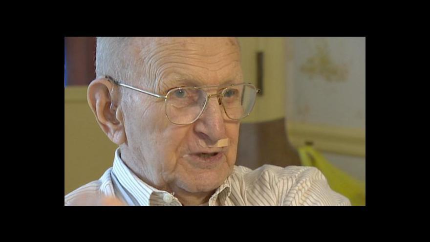 Video Robert Muthersbaugh vzpomíná, jak osvobozoval Plzeň