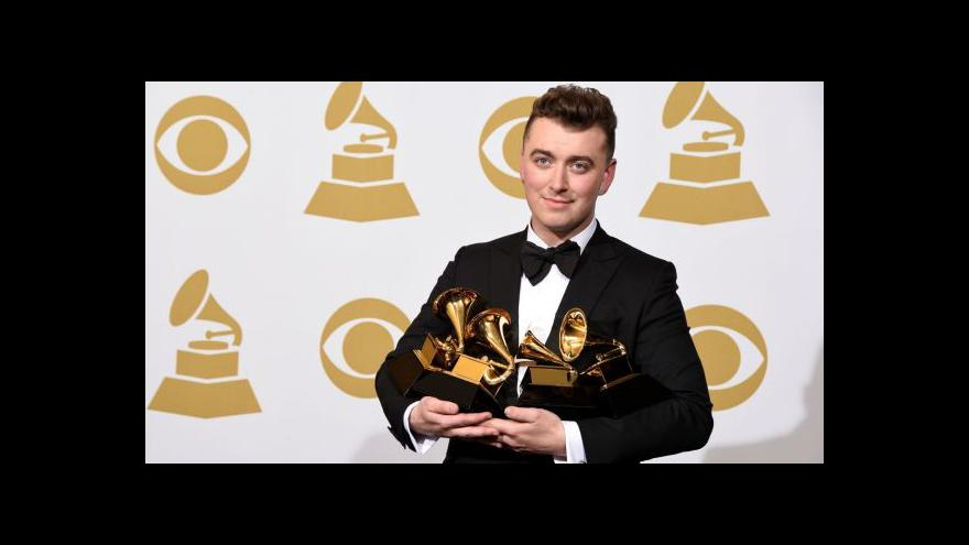 Video Grammy ovládl Sam Smith