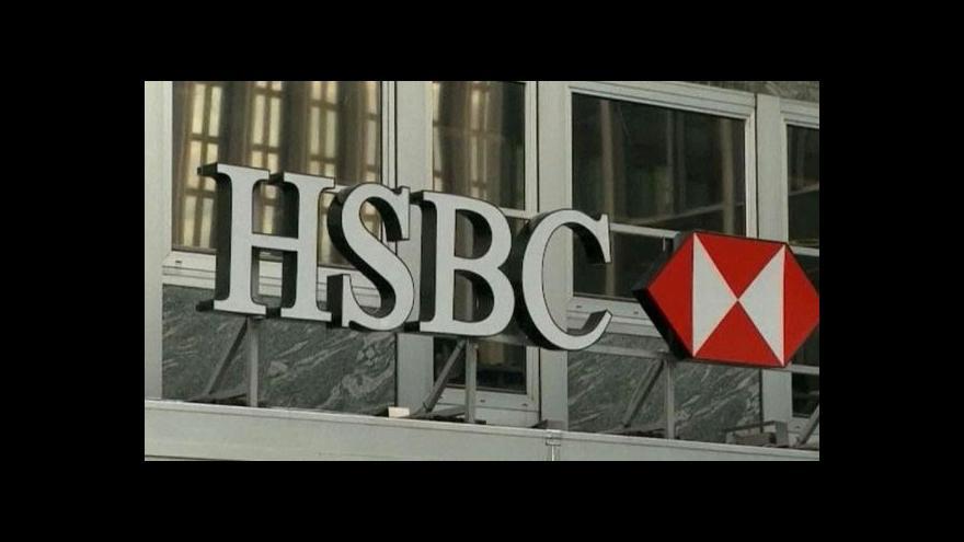 Video HSBC čelí skandálu s daňovými úniky