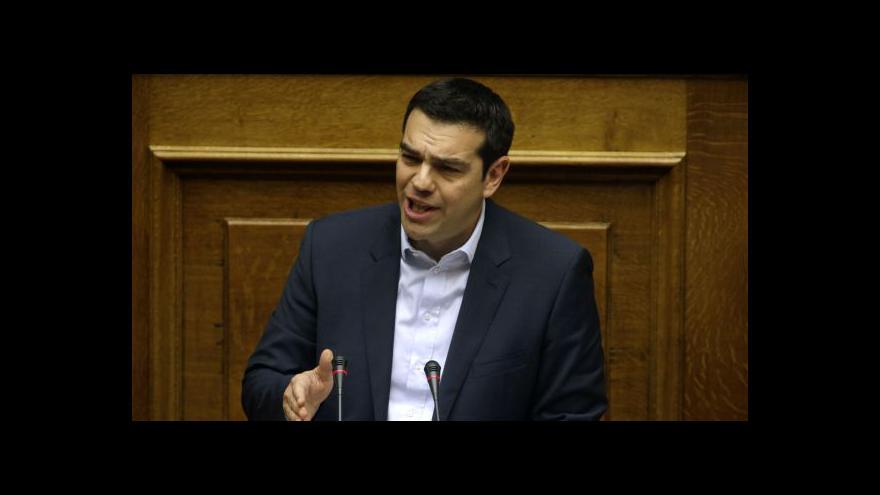Video Tsiprasův kabinet začíná vládnout