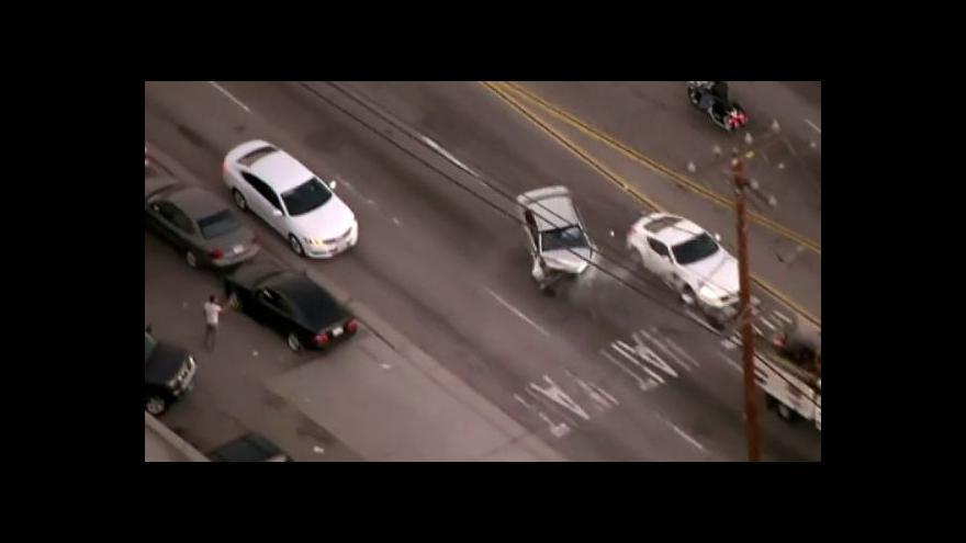 Video Divoká honička ulicemi Los Angeles