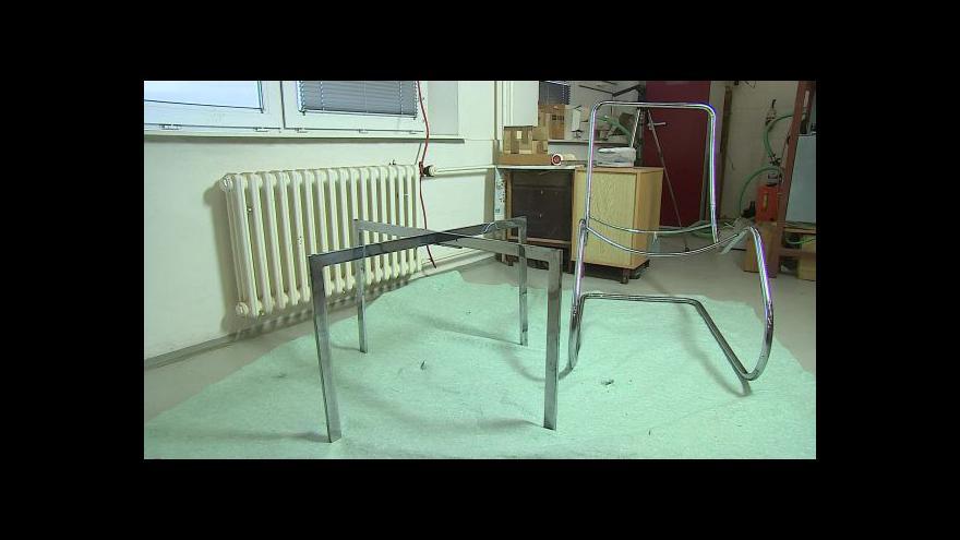 Video O nábytku z vily Tugendhat hovoří restaurátor Petr Janda