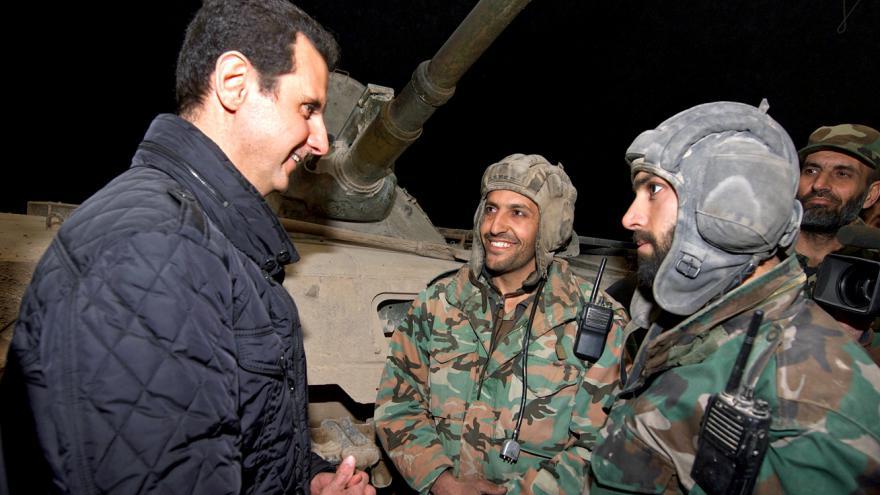 Video Bašár Asad: Není možné civilisty úmyslně zabíjet a zároveň usilovat o jejich podporu