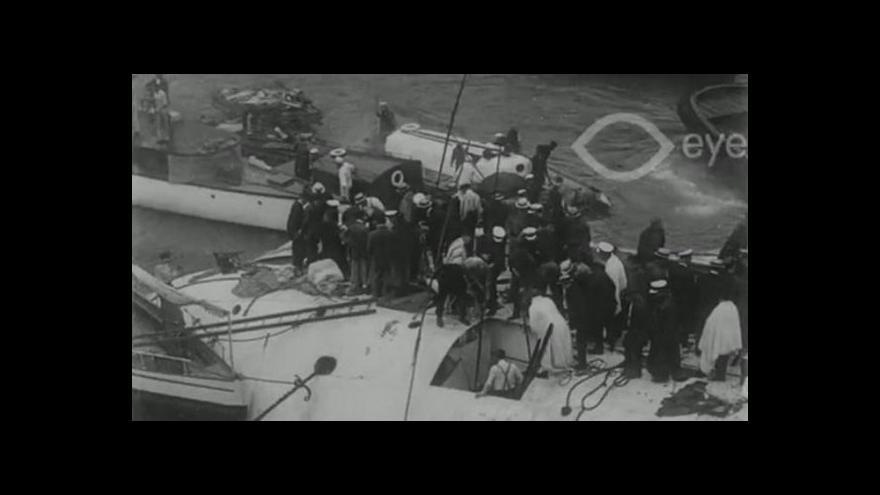 Video Unikátní záběry: Film o lodním neštěstí