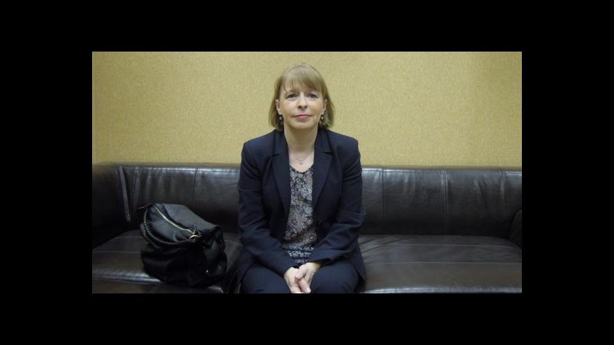 Video Hana Marvanová: Problém je transparentní obsazování vedoucích postů