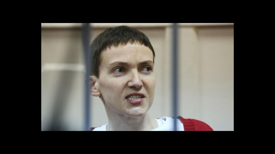 Video Dostane se pilotka díky dohodě z Minsku na svobodu?