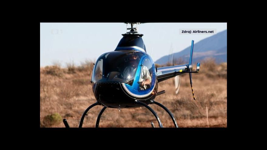 Video Na Litoměřicku zemřel pilot po pádu vrtulníku