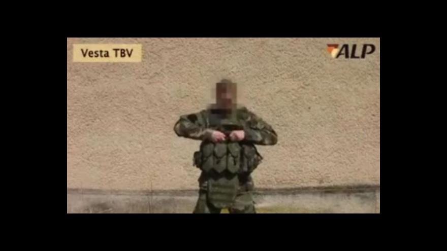 Video Petr Vávra: Nové vesty váží 7,75 kg