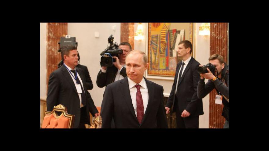 Video Politolog Robejšek o Minsku: Rusko získalo víc