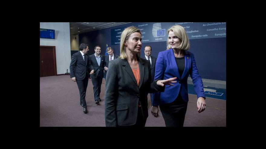 Video Horizont: V Bruselu vládne ohledně dohody z Minsku opatrnost