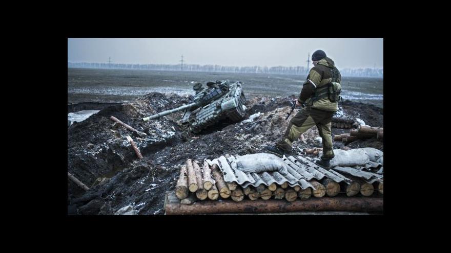 Video Události: Den před příměřím boje na Ukrajině neustávají
