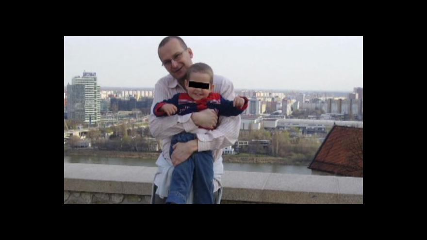 Video Tomáše Jadlovského a jeho syna hledá policie jako pohřešované