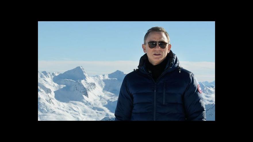 Video Jak se na natáčí nový Bond