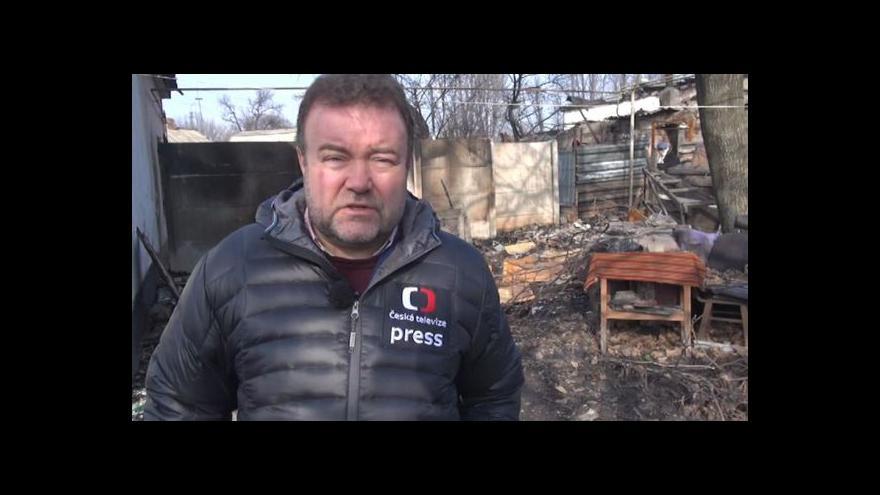 Video Karas: Lidé v Doněcku zažili po měsících první klidný den