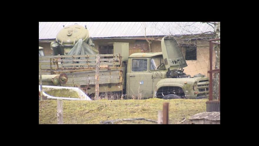 Video Nelegální sklad munice ve Slatině